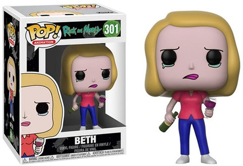 POP! Animation Rick & Morty S3Beth With Wine Glass