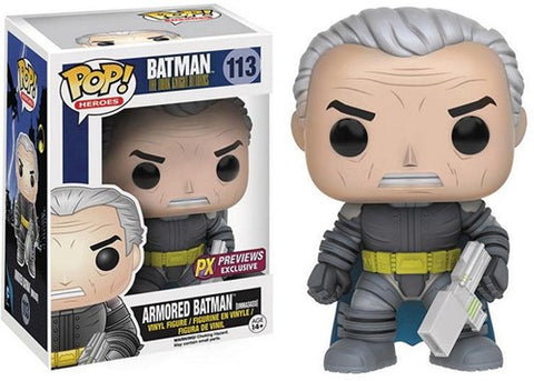 POP! Dc Dkr Armored Batman Unmasked Exc
