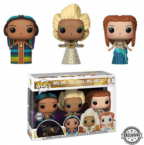 POP! Disney A Wrinkle in Time 3 Pack 3Mrs