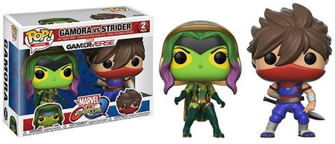 POP! Games Marvel Capcom 2-Pack Gamora/Strider