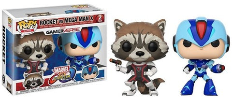 POP! Games Marvel Capcom 2-Pack Rocket / Megaman