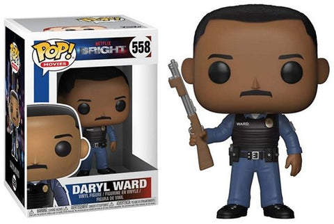 POP! Movies Bright S1 Daryl Ward With chase