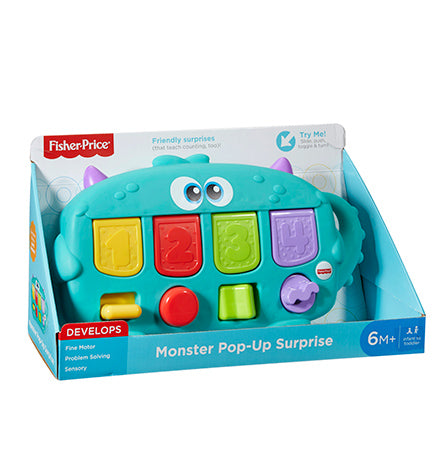 Fisher Price Monster Pop Up Surprise
