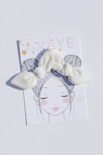 PEARL | VELVET PIGTAIL SET - HAND-TIED BOWS