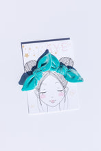 TIFFANY BLUE | VELVET PIGTAIL SET - HAND-TIED BOWS