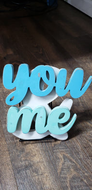 You & Me Shelf Sitter