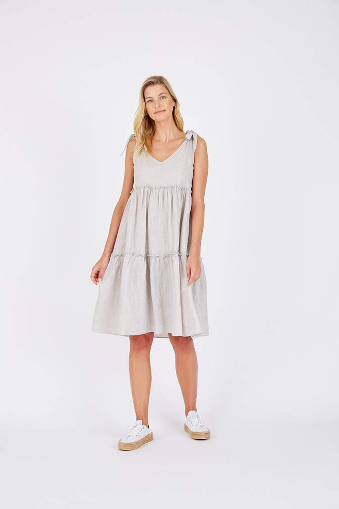 Santorini Dress In Lurex - String