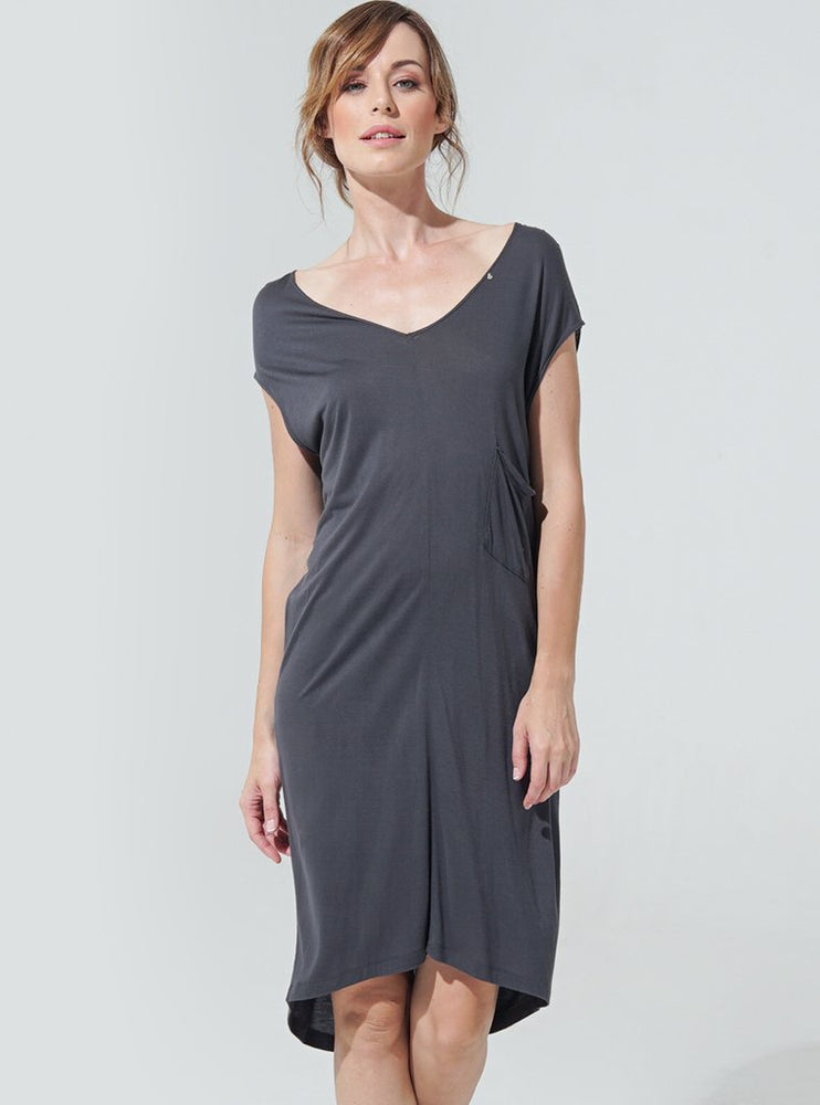 Grace Medi Dress - Steel