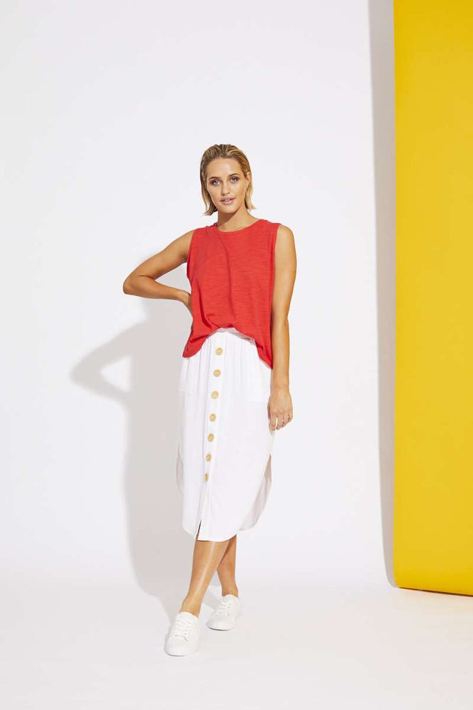 La Barre Skirt - White