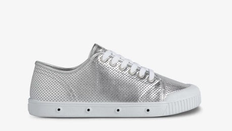 Punch Nappa G2 Sneakers - Silver