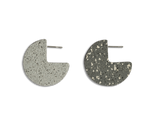 Light Pacman Studs - Stone/Grey Specks