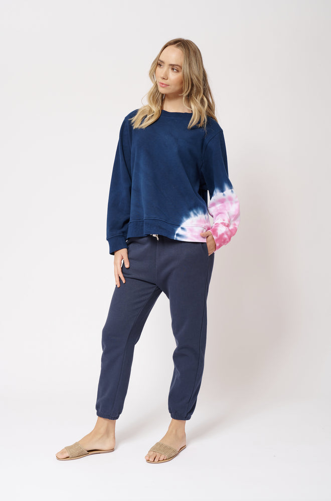 Lollipop Swirl Jumper - Navy