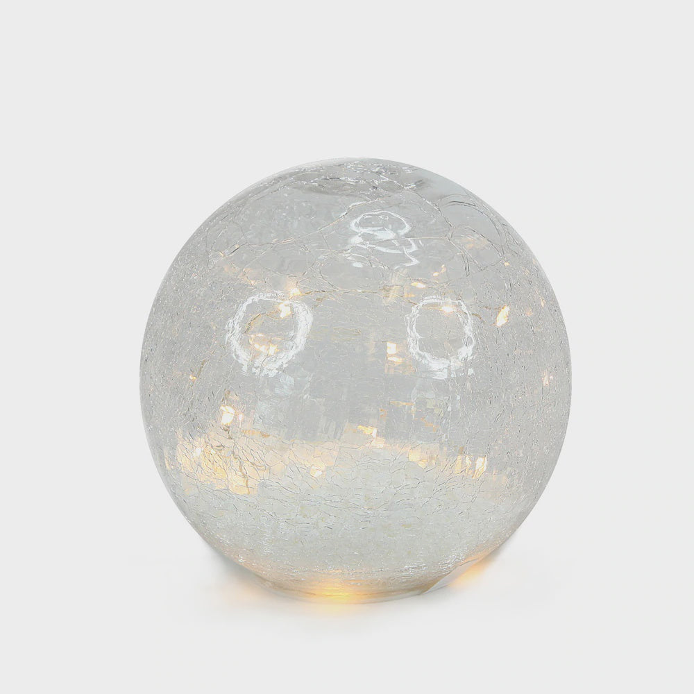 Glass Snow Ball - Large