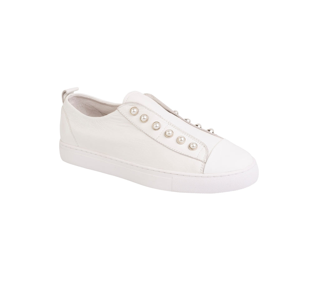 Pearl Sneakers - Cream