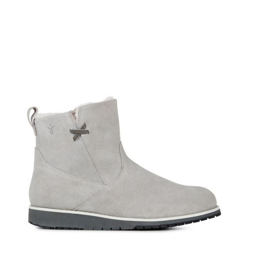 Beach Mini Ankle Boot - Dove Grey