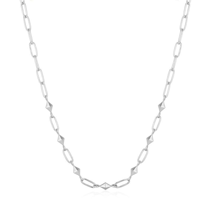 Spike It Up - Heavy Necklace - Silver