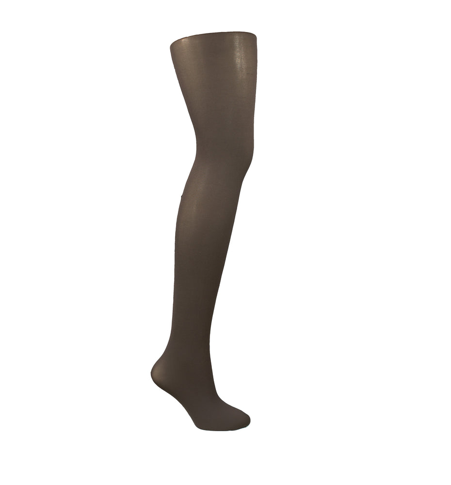 Opaque Tights - Chocolate
