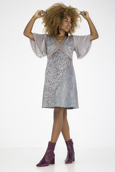 Tasmania Dress - Grey