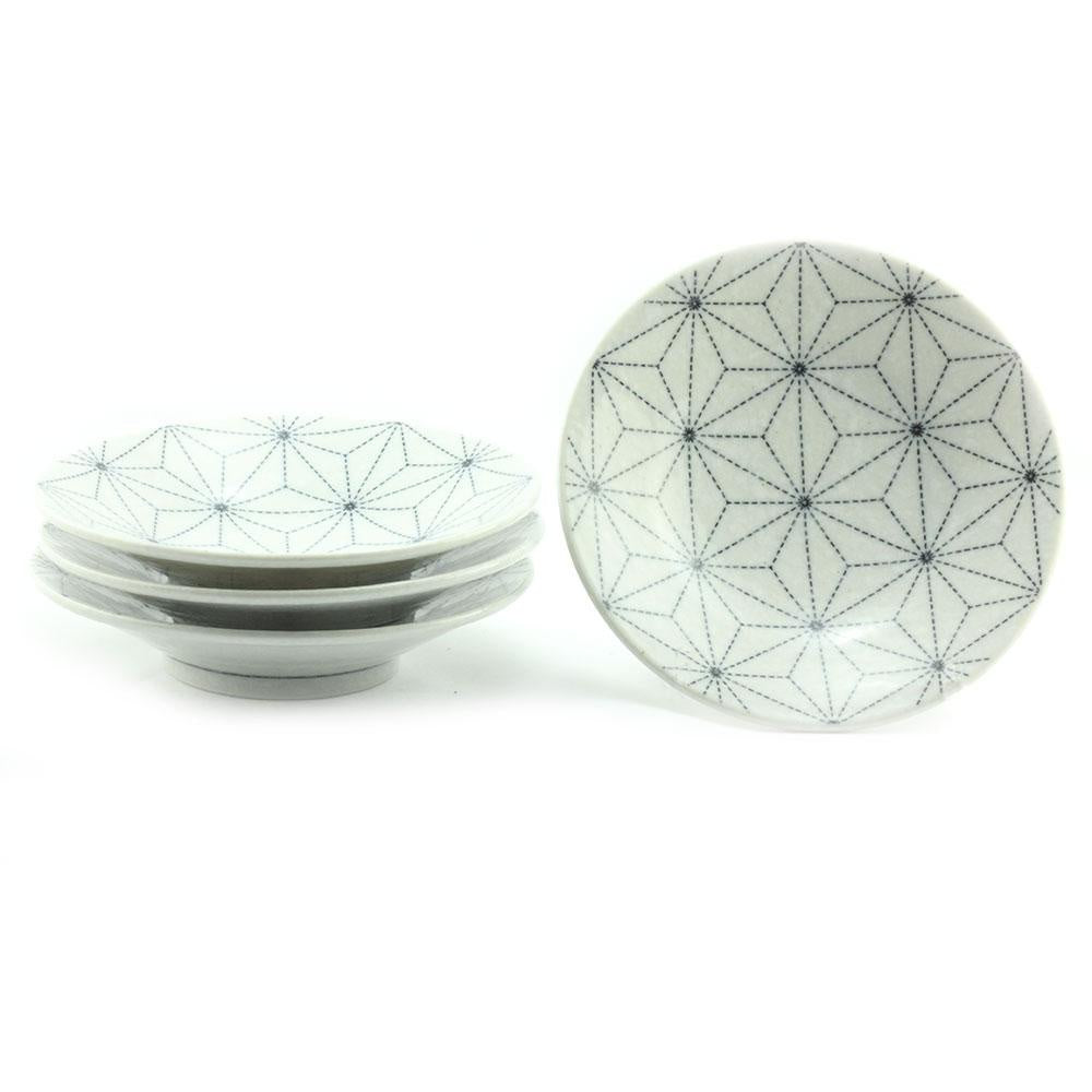 Asanoha Small Bowl - White Print