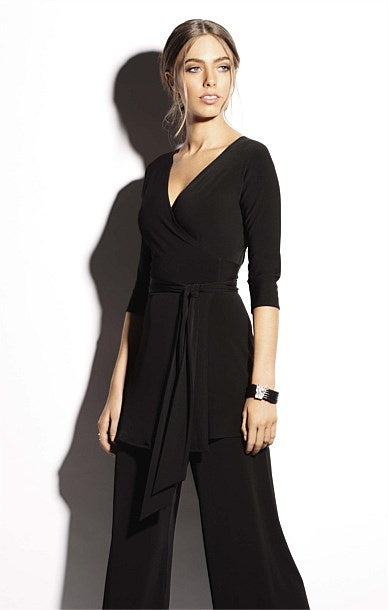 Turnaround Tunic Top - Black