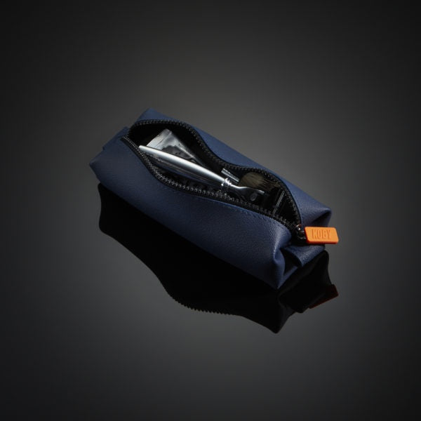 Mens Mini Toiletry Bag - Navy