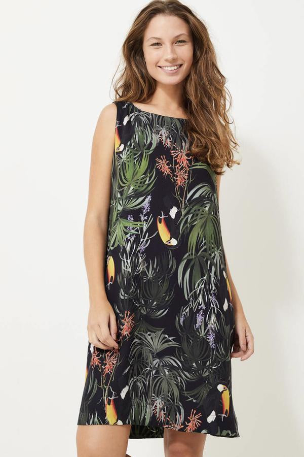 Marais Dress - Toucan Black