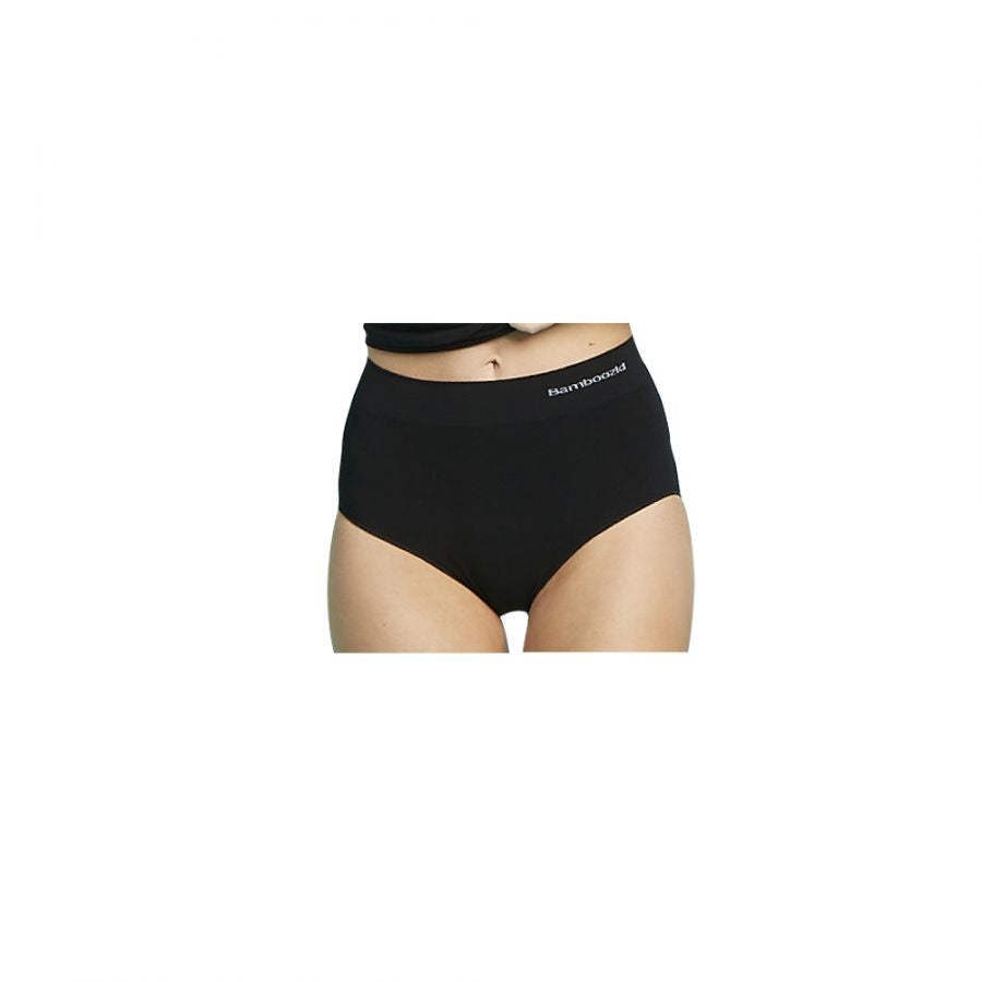Women's Bamboo Full Briefs - Black