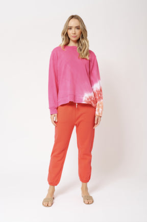 Lollipop Swirl Jumper - Lolly Hot Pink
