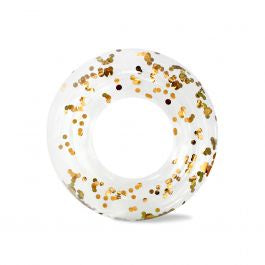 Minnidip Ring Float - Gold Confetti