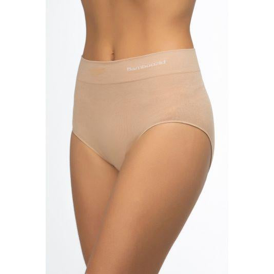 Women's Bamboo Full Brief - Nude