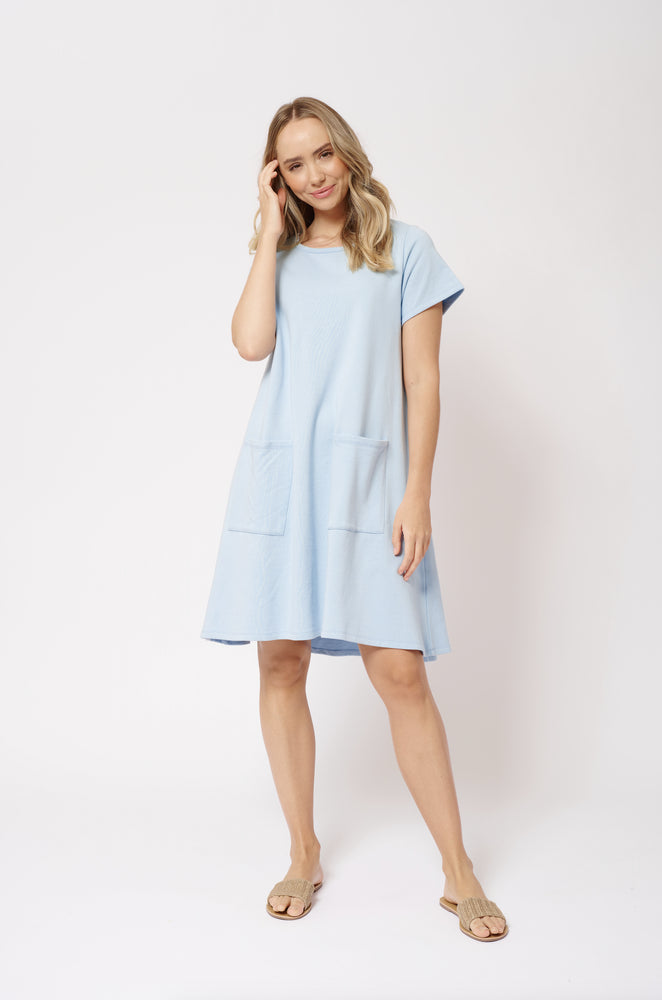 Paradisio Dress - Baby Blue