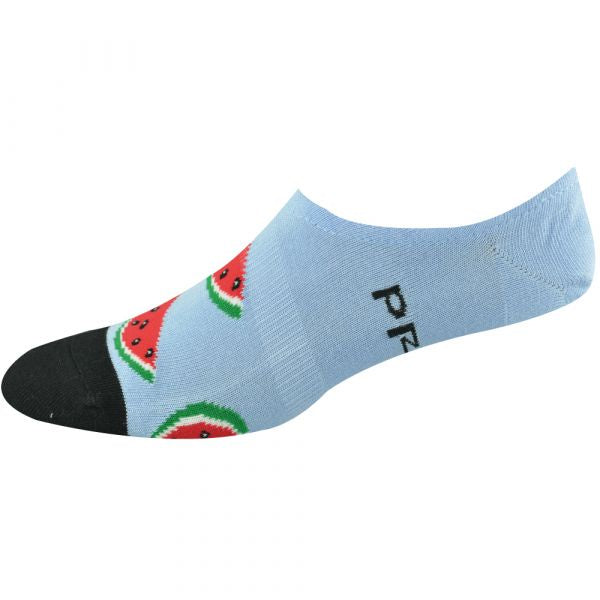 Bamboo Invisible Sock - Watermelon