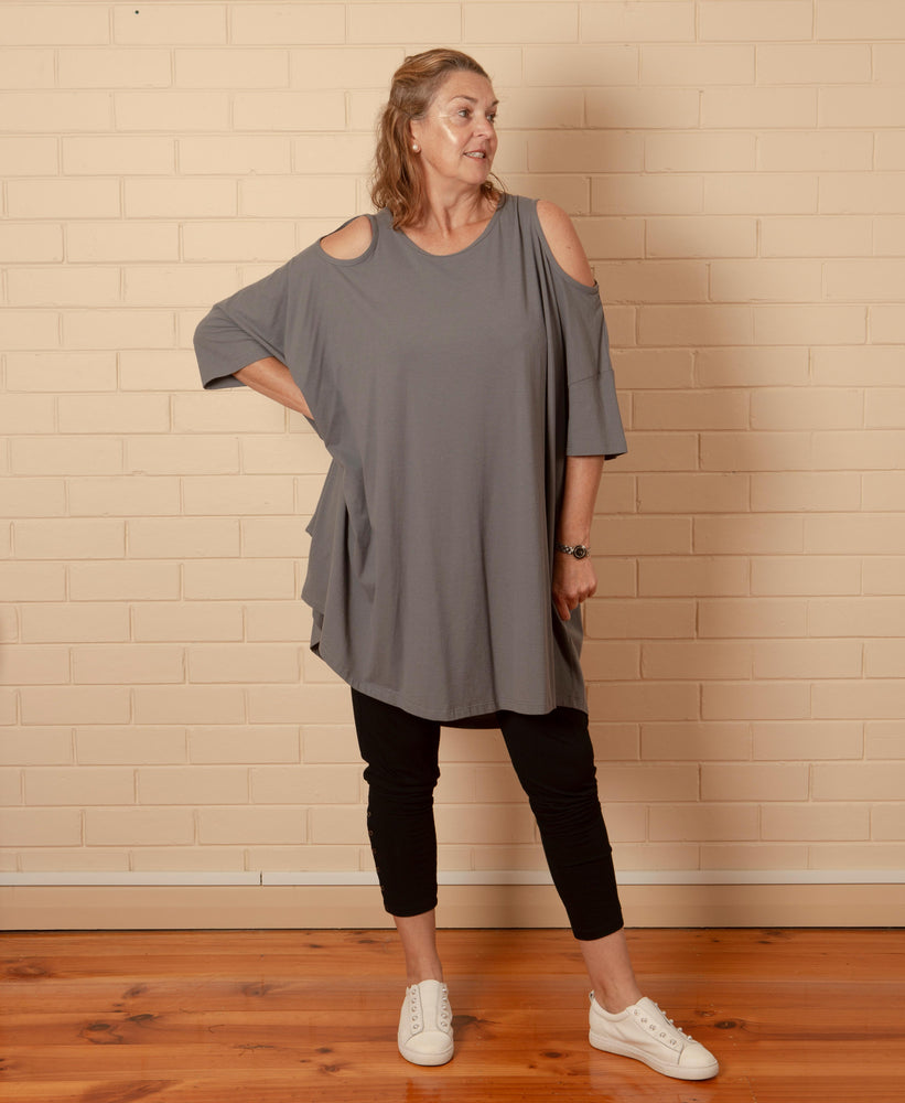 Favara Dress - Grey
