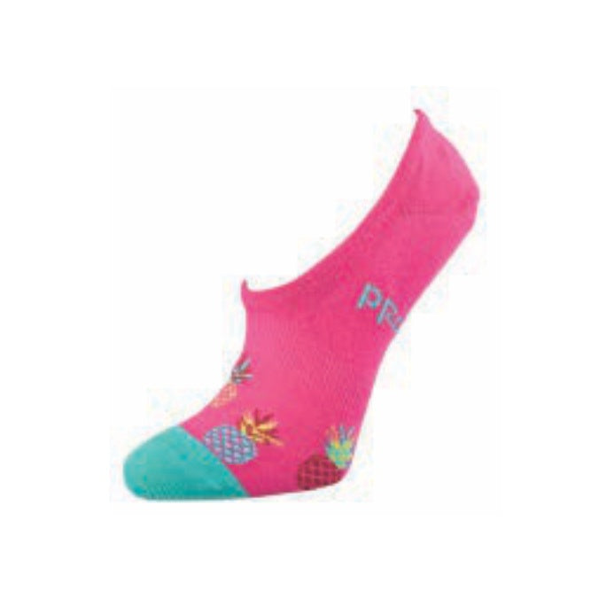 Bamboo Invisible Socks - Pink Pineapple