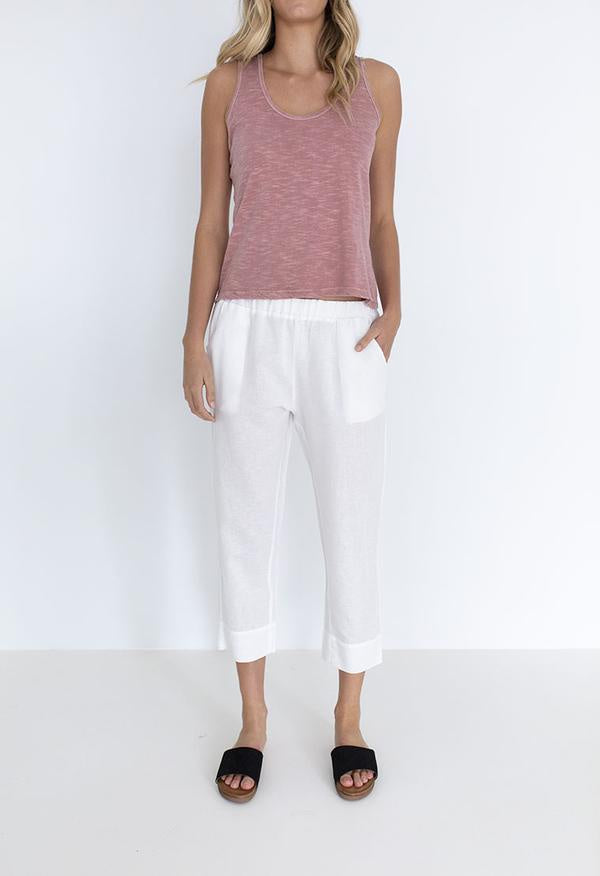 Long Weekend Pants - Ivory