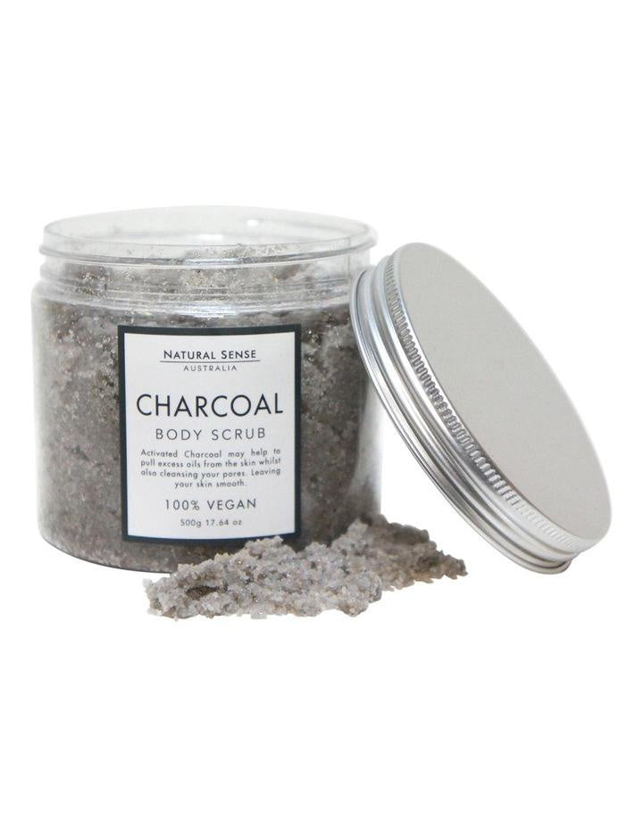 Herbal Remedies Body Scrub - Charcoal