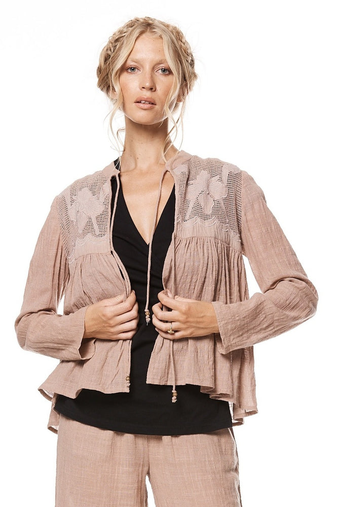 Zara Jacket - Dusty Pink
