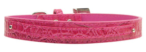 "3/8"" (10mm) Faux Croc Two Tier Collars"