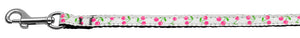 Cherries Nylon Collar White Wide Lsh