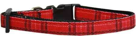 Plaid Nylon Collar