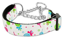 Load image into Gallery viewer, Lollipops Nylon Ribbon Collar Martingale