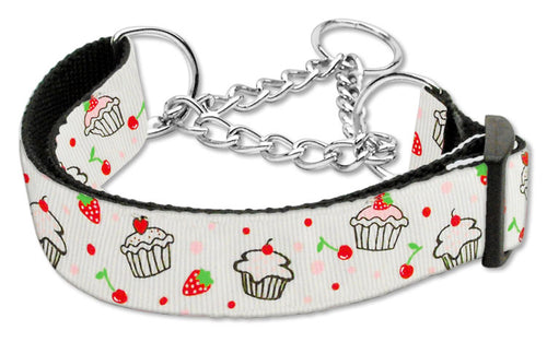Cupcakes Nylon Ribbon Collar Martingale