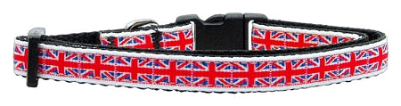 Tiled Union Jack(uk Flag) Nylon Ribbon