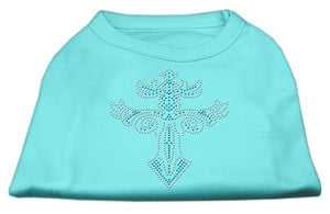 Warrior's Cross Studded Shirt Aqua