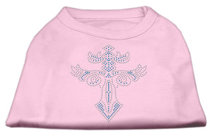 Warrior's Cross Studded Shirt Light Pink