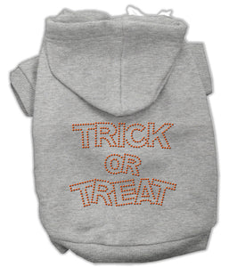 Trick Or Treat Rhinestone Hoodies
