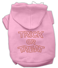 Load image into Gallery viewer, Trick Or Treat Rhinestone Hoodies