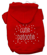 Load image into Gallery viewer, Cutie Patootie Rhinestone Hoodies