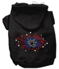 Load image into Gallery viewer, Fireworks Rhinestone Hoodie