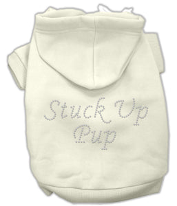 Stuck Up Pup Hoodies